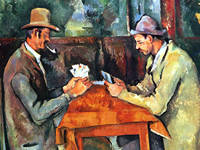 Cezanne's Card Players at the Courtauld