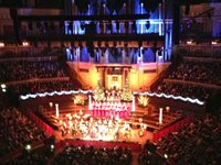 Sing along Christmas carols are an annual event at the RAH