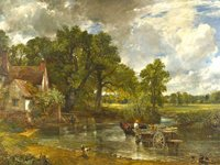 Constable's Hay Wain at the National Gallery, London