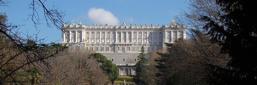 The gardens of the Royal Palace, Madrid (© beamillion from Madrid, CC-BY-SA-2.0)