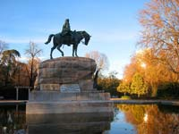 A monument to General Martinez Composin Park Buen Retiro, Madrid