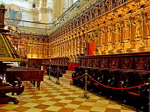The Choir of the Cathedral of Málaga (© Hajotthu, CC BY 3.0)