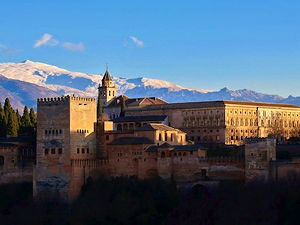 The Charles V palace in Alhambra, Granada, Spain (© Elemaik, CC BY-SA 4.0)