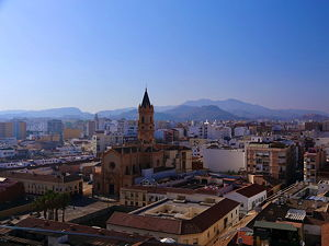 La Trinidad in Málaga, Spain (© logopop, CC BY-SA 3.0)