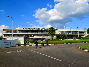 Airside view of terminal at Lilongwe Kamuzu International Airport (© Sean Mendis, CC BY-SA 4.0)