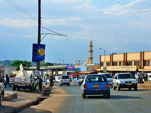 Lilongwe is the capital and most populated city of the African state of Malawi. It has a population of 989,318 as of the 2018. Picture was taken in Lilongwe downtown (© Hansueli Krapf, CC BY-SA 3.0)
