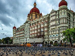 The Taj Mahal Palace Hotel is a five star hotel located in the Colaba region of Mumbai, Maharashtra, India, next to the Gateway of India.