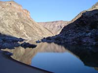 Fish River Canyon's river bed