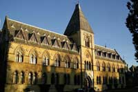 The Oxford University Museum of Natural History, one of Oxford's top attractions.