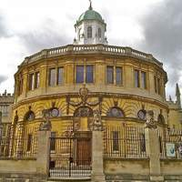 The Sheldonian Theatre, named after Gilbert Sheldon.