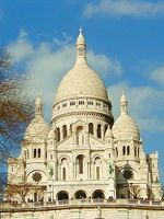 The iconic Sacre Coeur, Montmartre.