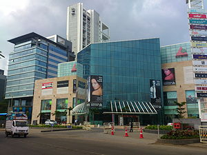 A photo of Koregaon Park Plaza in Pune, India