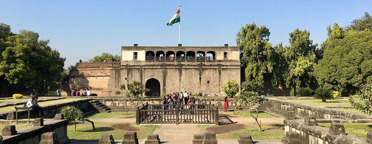 The Shaniwar Wada in Pune, India
