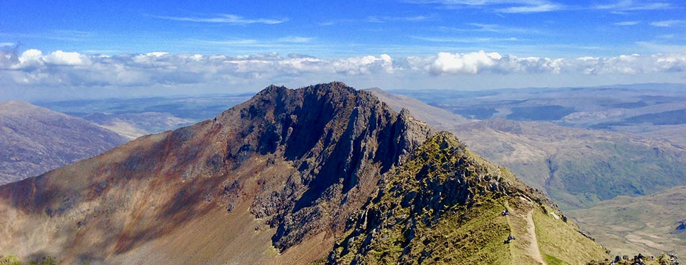 The Snowdon Horseshoe On A Glorious Summer S Day