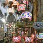 Turkish lamps on sale in Istanbul's Grand Bazaar.