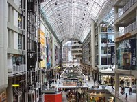 The Eaton Centre, Toronto