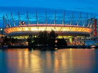 Vancouver's BC Place Stadium (© Yvrphoto, distributed under a CCASA3.0 Unported licence)