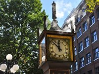 The steamclock at Gastown (© Joe Mabel, distributed under a CCASA3.0 Unported licence).