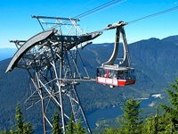 Grouse Mountain's cablecar