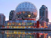 Science World, Vancouver (© Differense, distributed under a CCASA 3.0 Unported licence).