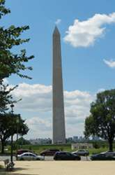 The Washington Monument is the Capital's tallest structure